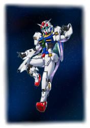 [Artwork] Gundam Plutone (SD Gundam-styled head)