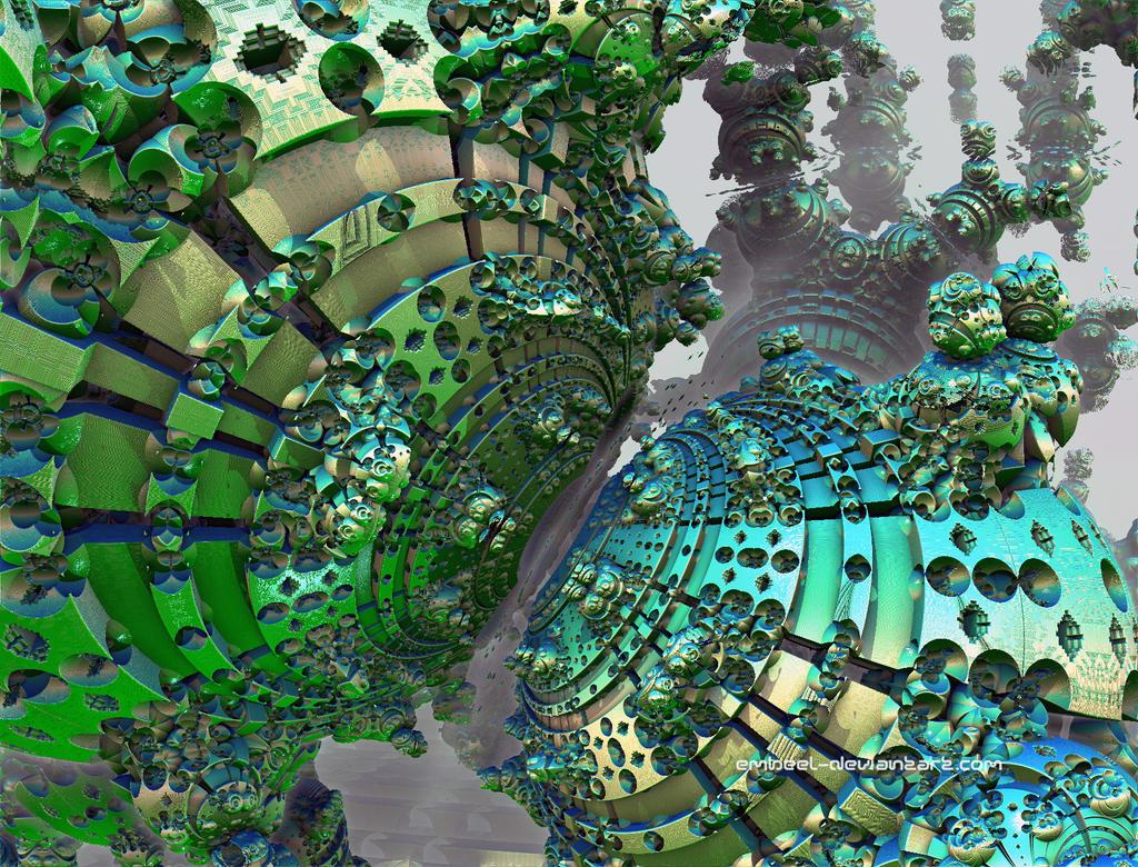 Reptilian Skin Cells by eMBeeL