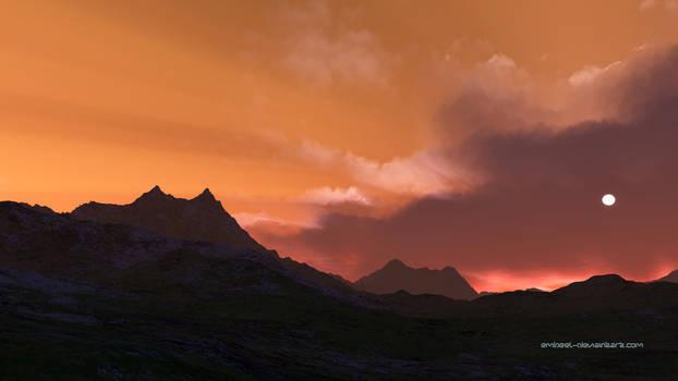 Global Warming Sunset