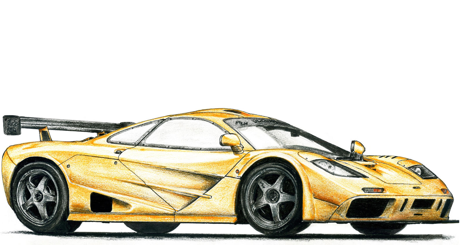 McLaren F1 LM by SL-Cardesign on deviantART