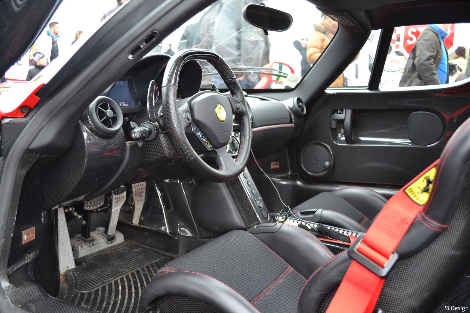Ferrari Enzo Interior By Sl Cardesign On Deviantart