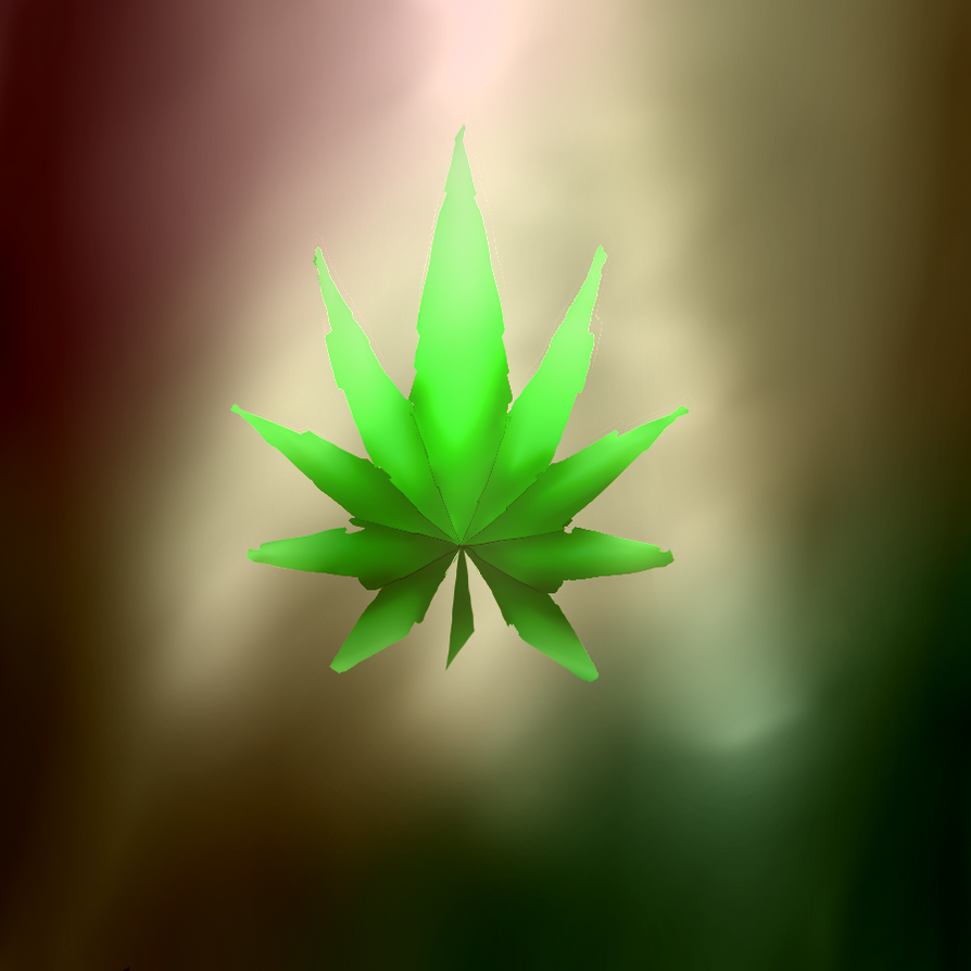 Ganja Leaf by Emizi