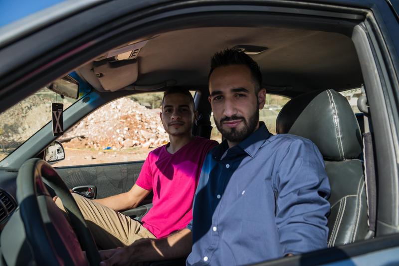 Palestinian's Street Portrait 01 by yanjin