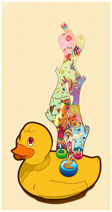 la-la duckie by jovietajane