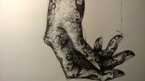 An ordinary hand by semraturkmen