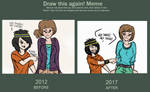 Annoyance: Before and After by Gabby413