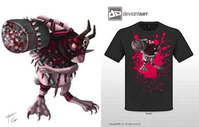 cute monster: doomsbunny by verdilaksBreeding