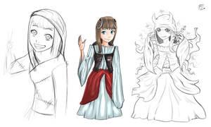 Manga Sketch by verdilaksBreeding