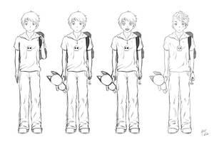 Mangaboy Sketch by verdilaksBreeding