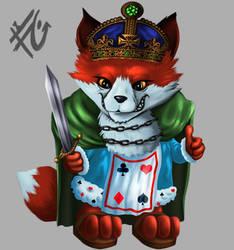 Victory Fox Fineweb by verdilaksBreeding
