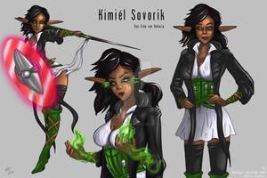Kimiel character design by verdilaksBreeding