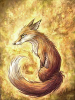 Fox for bluephoenix81716 by villasukka
