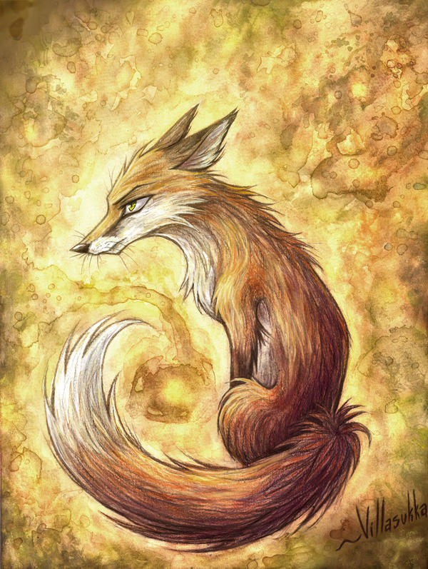 Fox for bluephoenix81716 by villasukka