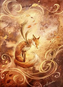 Autumn fox   Valdo