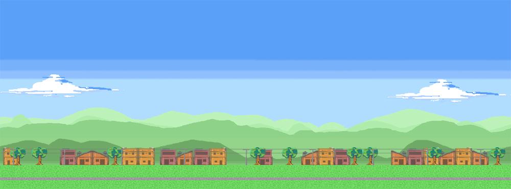 Pixel art landscape by odouglasduarte on DeviantArt