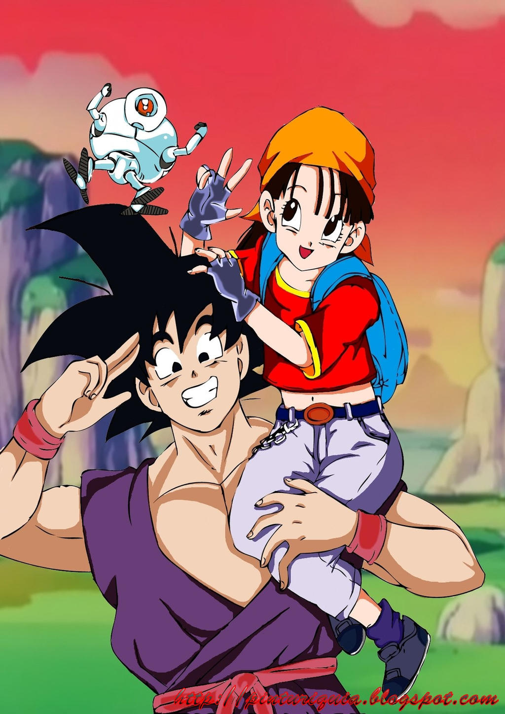 Dragon Ball GT Pan and Goku by KyoNaginawa on DeviantArt