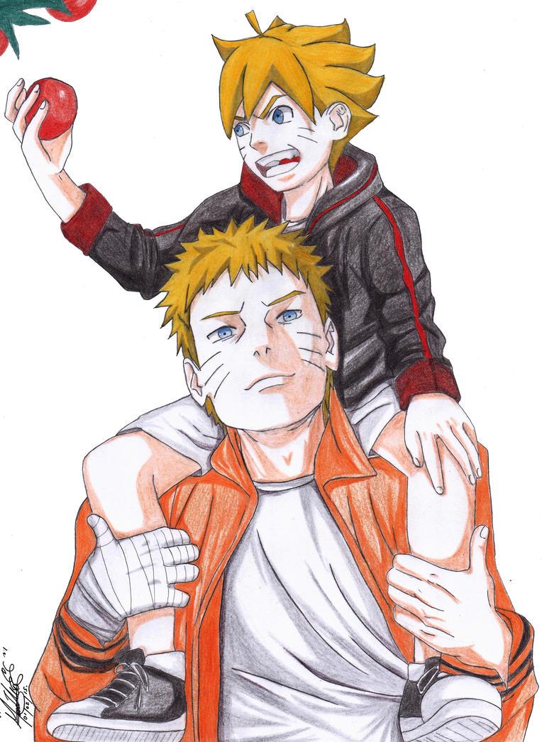 Anime Characters Born On February 7 : The last naruto and boruto by shinamvec on deviantart