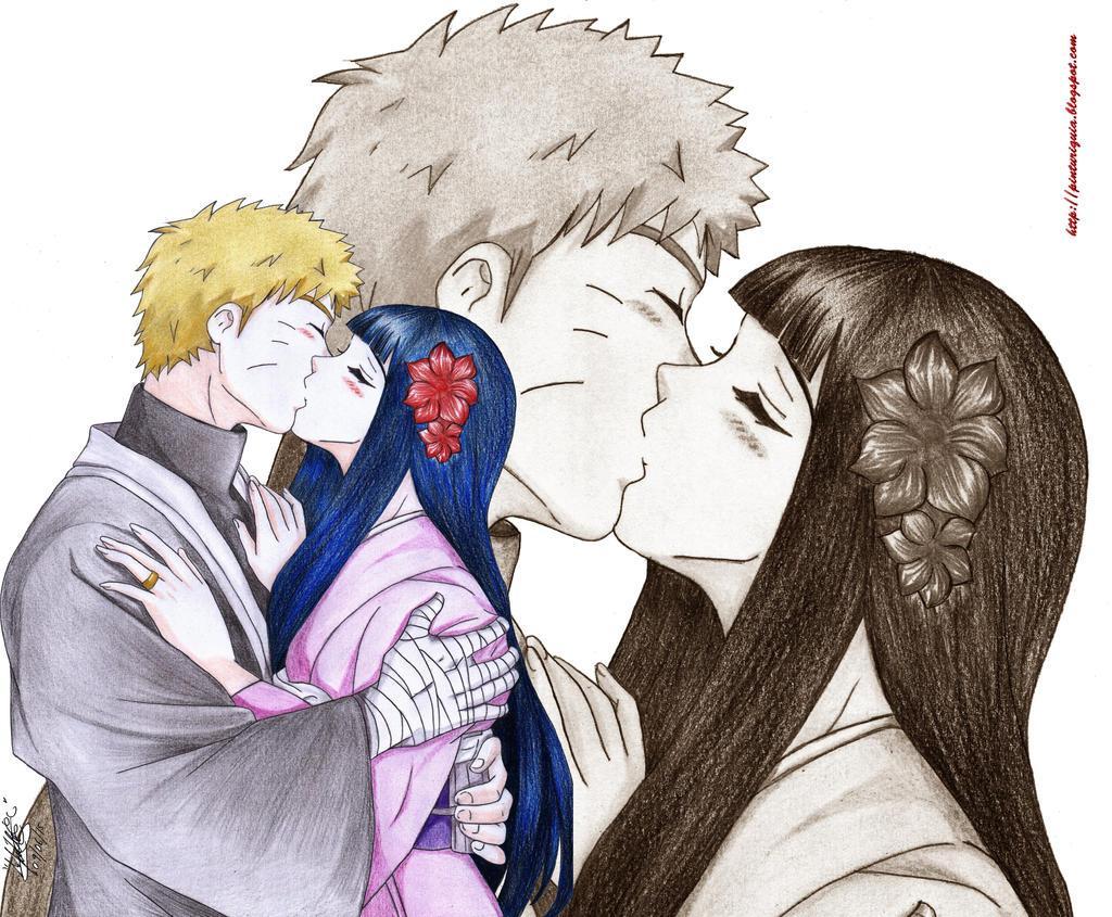 naruto THE LAST -naruto y hinata kiss by shinamvec on ...