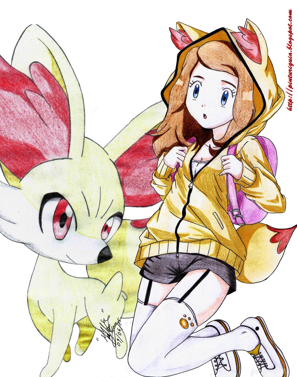 pokemon x and y serena