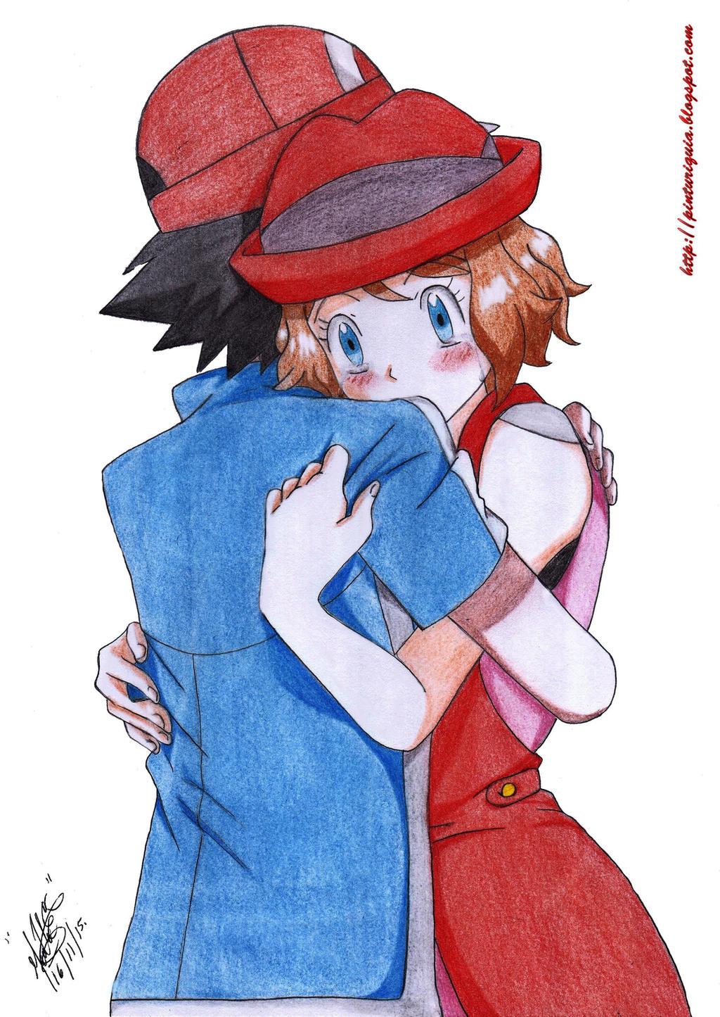 mlp pokemon ash and serena by jucamovi1992 on deviantart