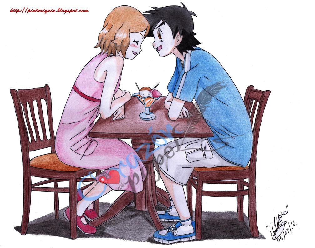 CUTIES hentai pokemon satoshi