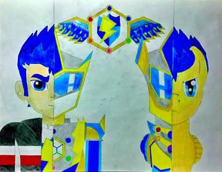 Half of the Harmony knight warrior