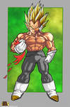 Prince Vegeta The Ultimate Life Form Super Saiyan