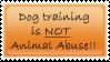 Dog training stamp by CaveLupa