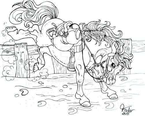 Bucking Pony
