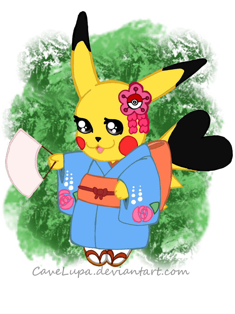 how to say pikachu is my favorite pokemon in japanese