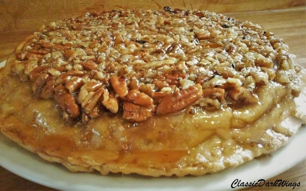 Upside-Down Apple Pecan Pie by ClassicDarkWings on DeviantArt