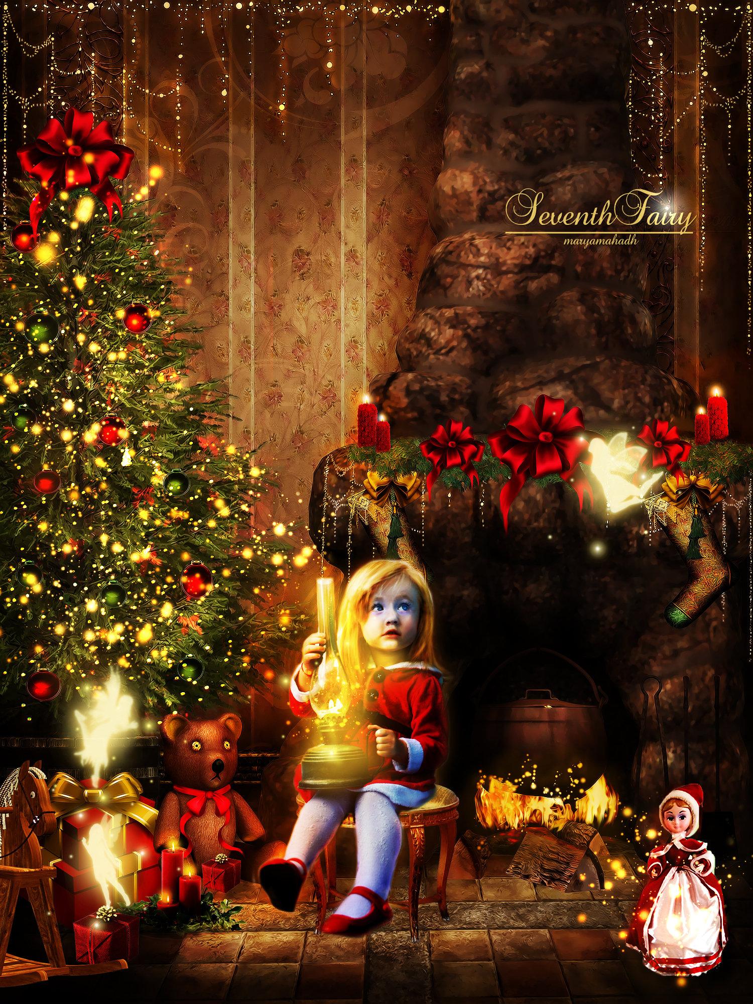 Fairy Christmas by SeventhFairy on DeviantArt