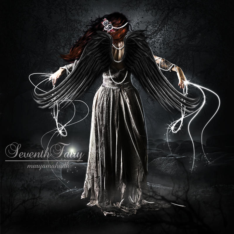 Rising Of Dark Angel by SeventhFairy