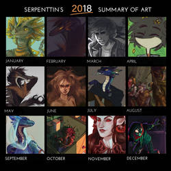 2018 summary of aliens and dragons by hamusson