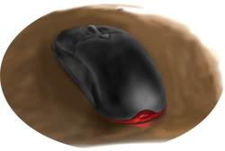 My mouse by nangke