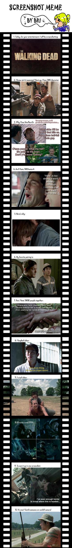 The Walking Dead--Screenshot Meme by nangke