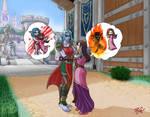 Rogue-Warlock Team Relations