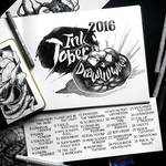 Drawlloween+ InkTober 2016