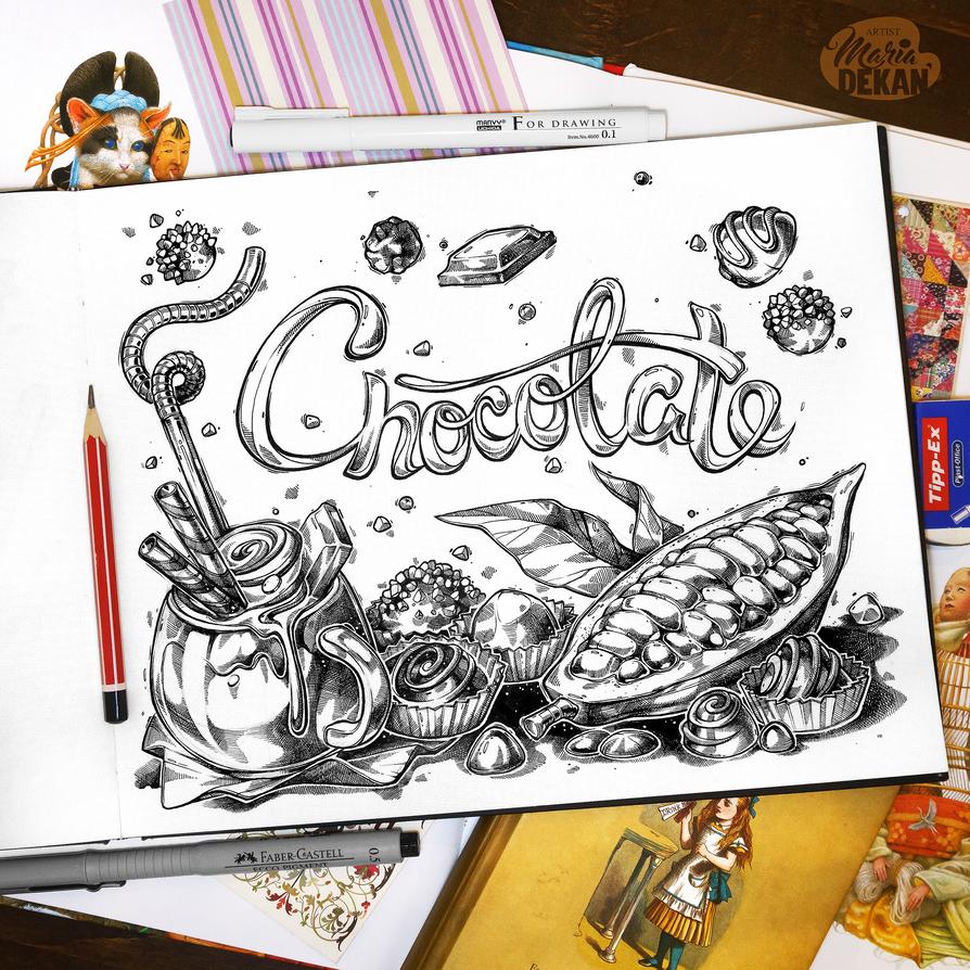Chocolate by mariadekan