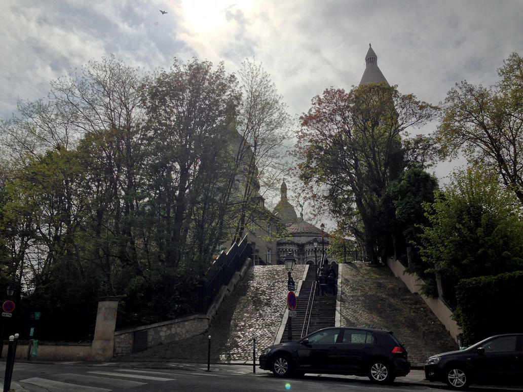 Sacre Coeur by kafik
