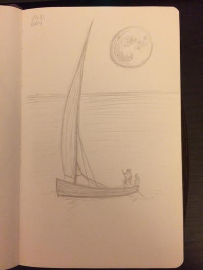 20140731 Sailor Moon by SketchDailyChallenge