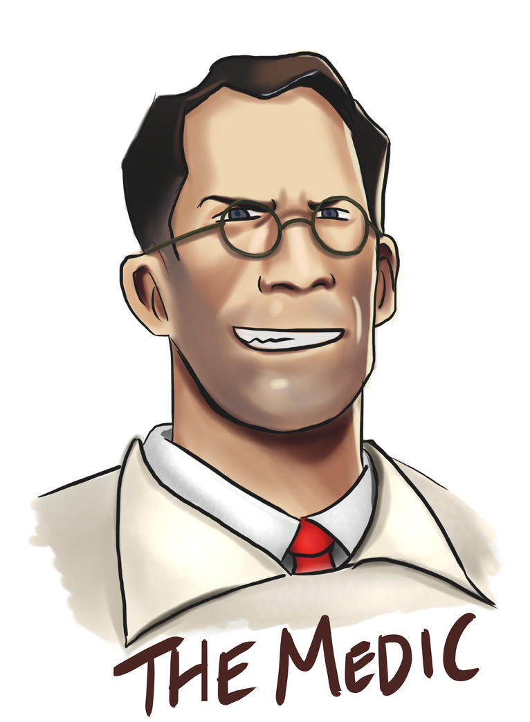 how to draw medic tf2