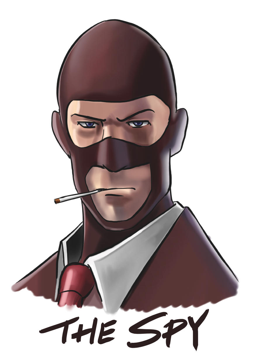 tf2 meet the spy map drawing