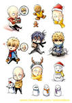 OPM Christmas stickers 2015