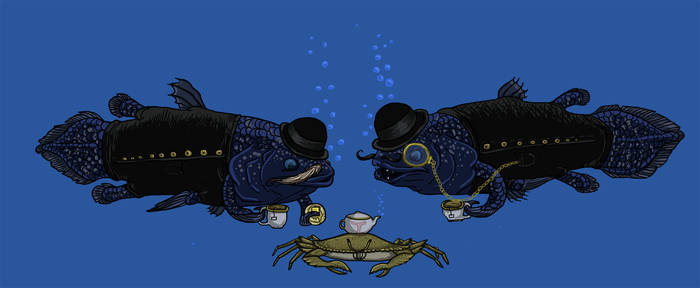 Classy Coelacanths Converse