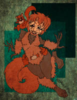 Squirrel Girl and Monkey Joe by jojoseames