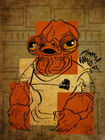 4for4: Admiral Ackbar by jojoseames