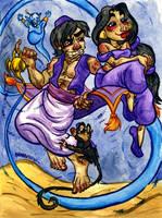 Aladdin by jojoseames