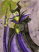 Maleficent by jojoseames