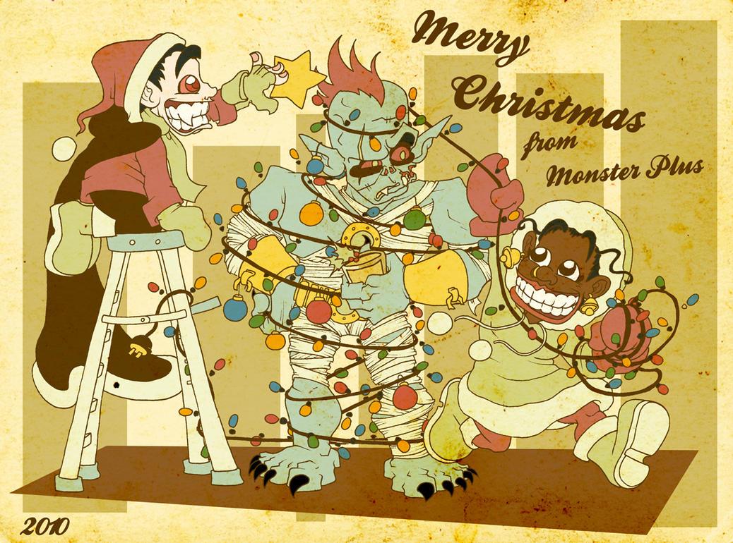 Monster Christmas 2010 by JoJo-Seames on DeviantArt